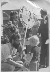 Foto de un protesto