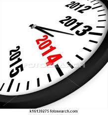 2014 clock.