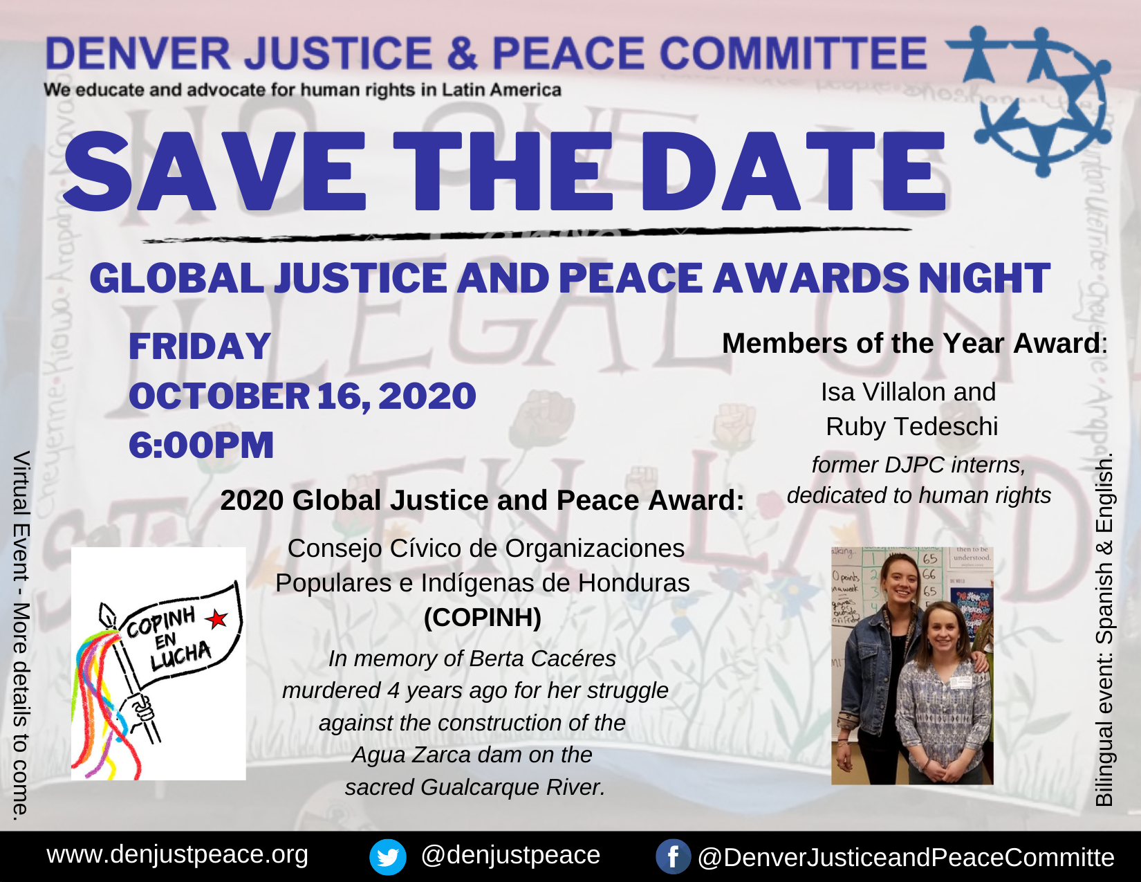 Save the Date: Awards Night 2020