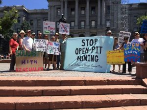 DJPC Day of Action Action Against Open Pit Mines July 22nd 2016