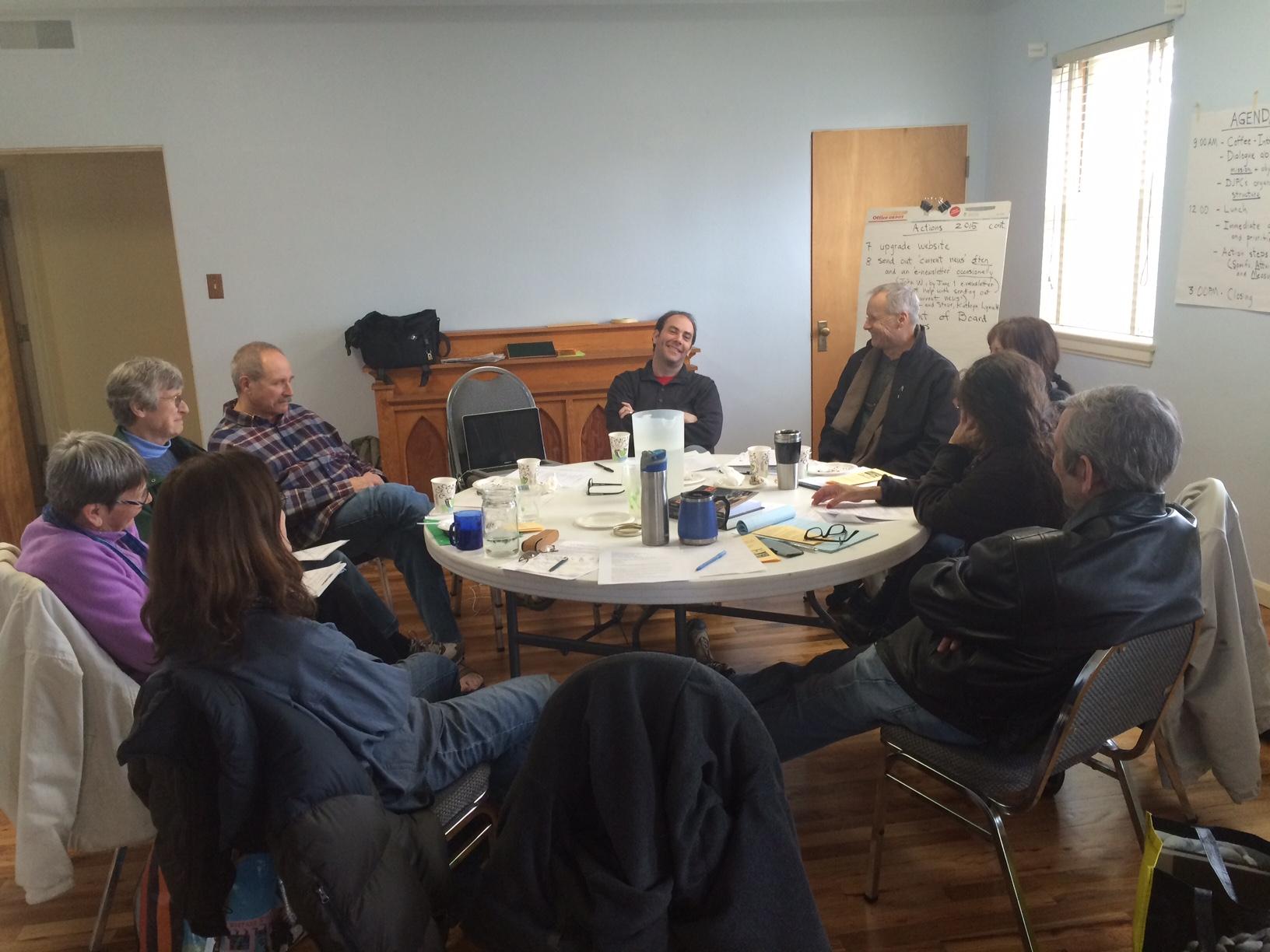 DJPC Members at the January 2015 Retreat!