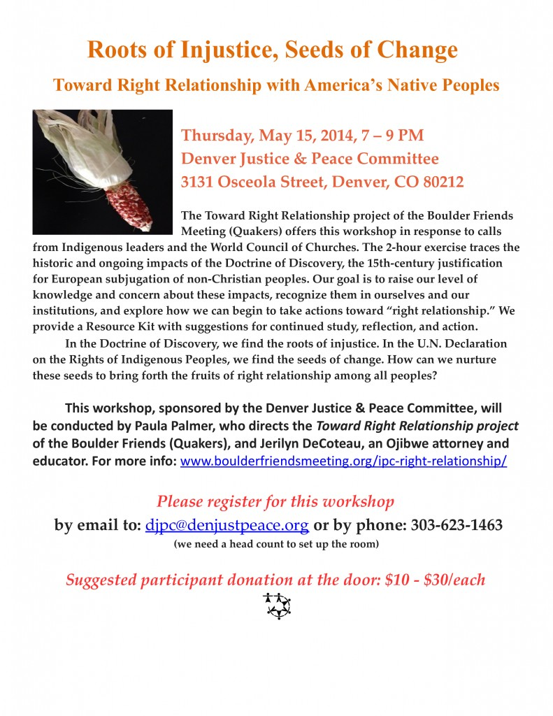 DJPC Workshop, May 15, 2014