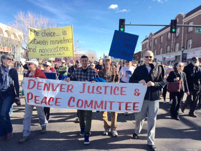 DJPC members marching at the 2015 Marade!