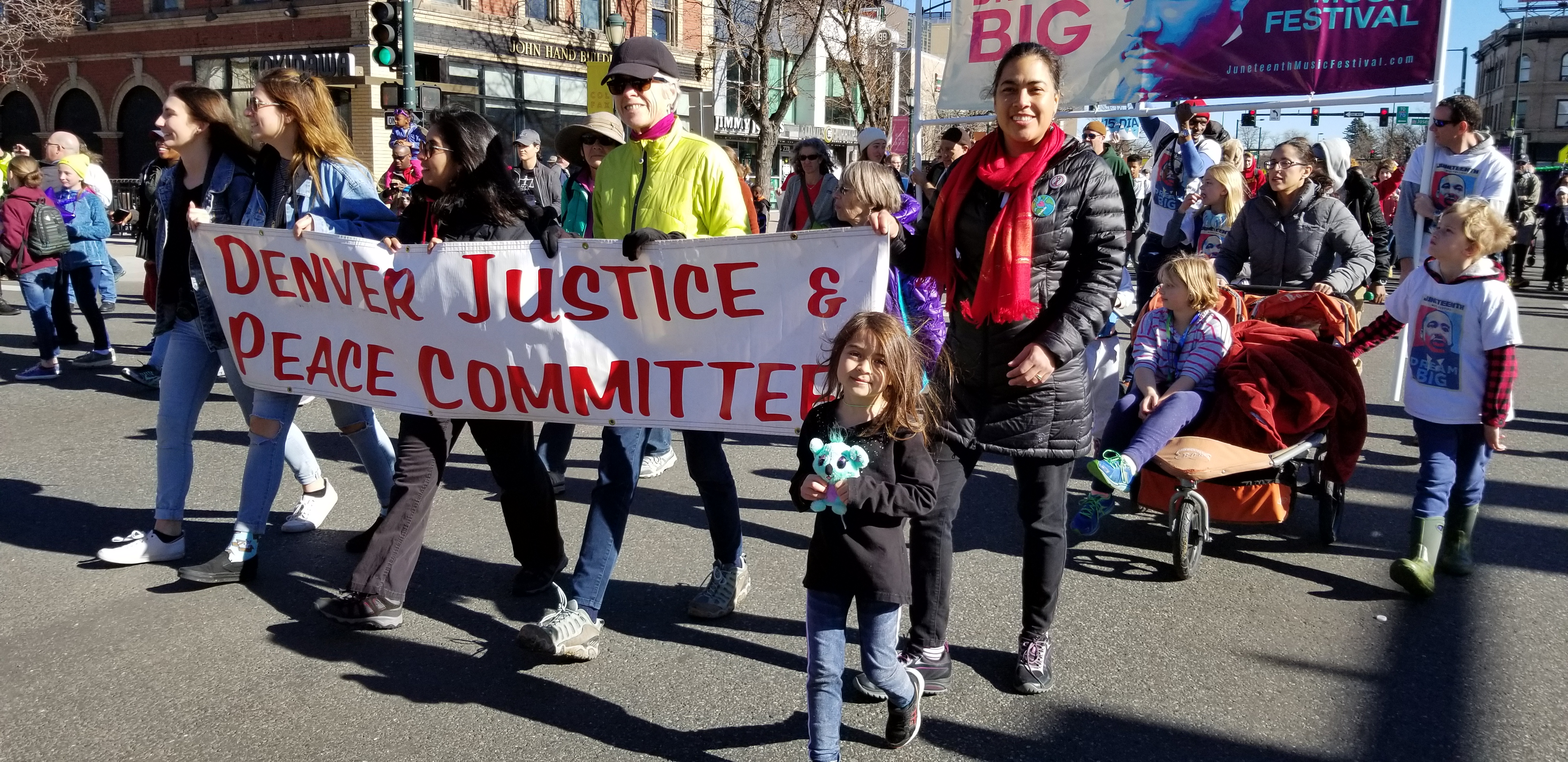 (English) MARADE: MLK March and Parade Monday, January 20th 2020 at 10:30 am