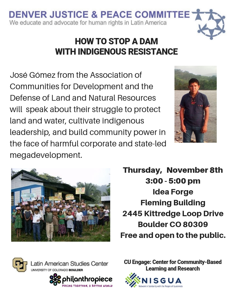 How to Stop a Dam with Indigenous Resistance, the Guatemala experience.