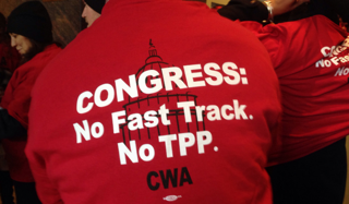 March 12th Salon:  TPP