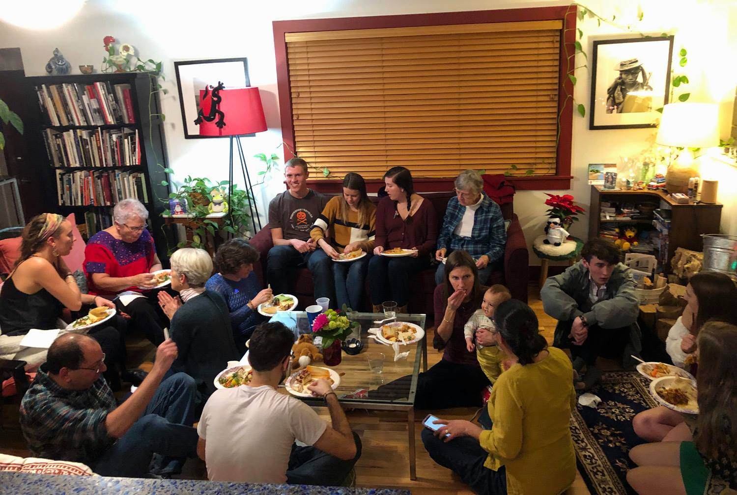Holiday Pot-Luck Friday, December 6th at 6pm at 1630 Adams Street, Denver.