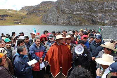 Stop the intimidation of anti-mining protesters in Peru!