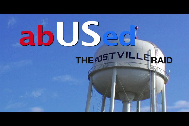 "(English) July Salon/DJPC's Summer Film Series featuring ""abUSed: The Postville Raid"""