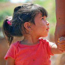 Child Holding Hand - Ken Bosma