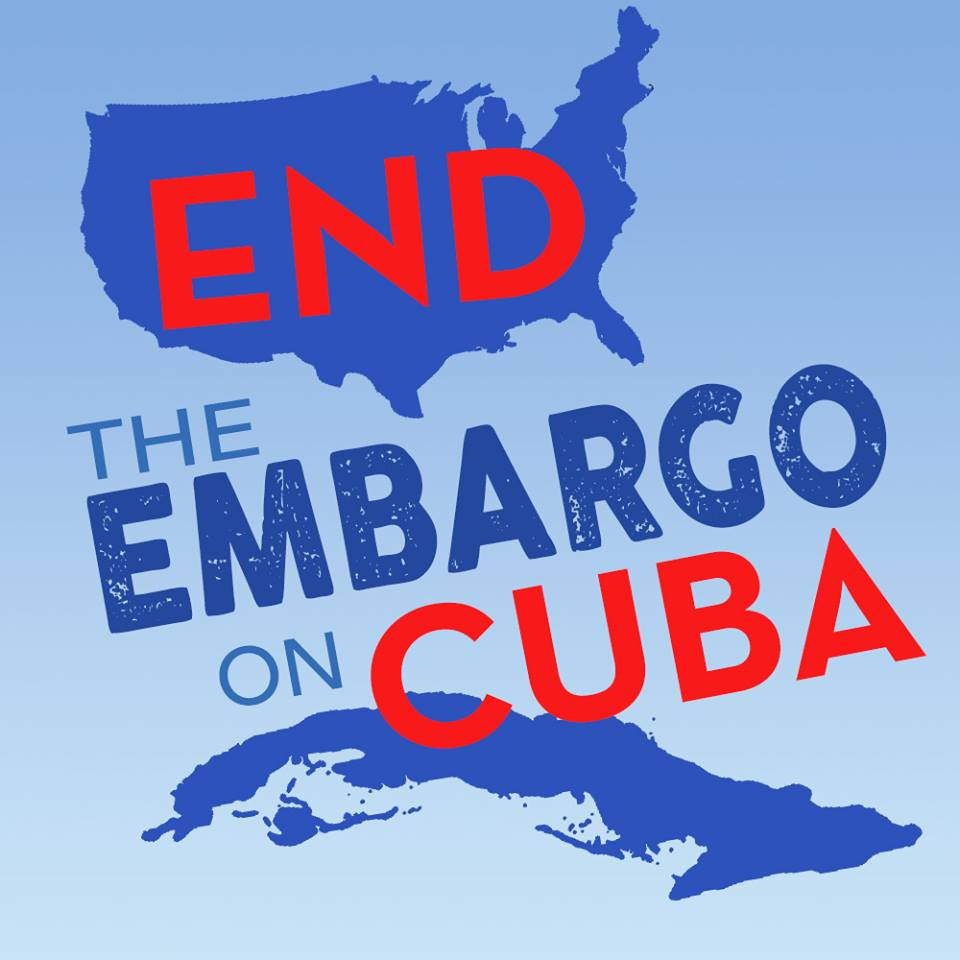 We stand by the right of the Cuban people to self-determination and freedom from U.S. political, economic, and military intervention.