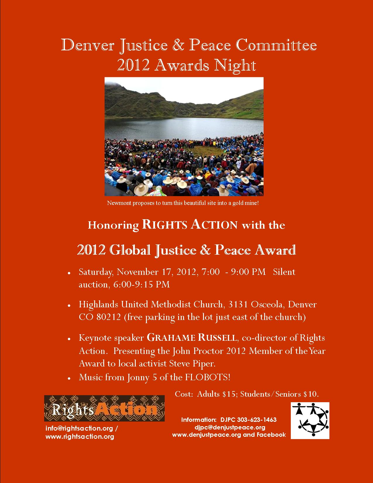 Tonight Awards Night 2012!