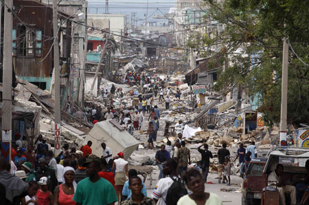 February Salon- HAITI: Beyond the Earthquake